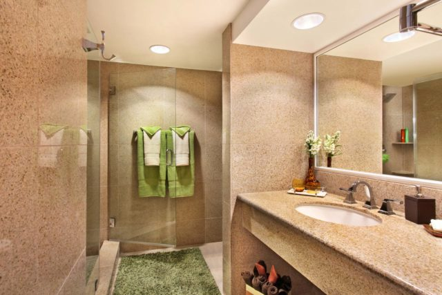 Granite Bathroom at Avenue of the Arts Costa Mesa