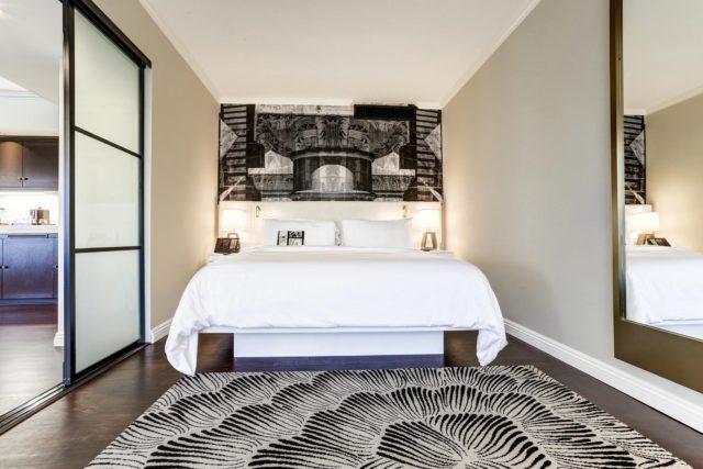 Executive Suite Bedroom at Avenue of the Arts Costa Mesa