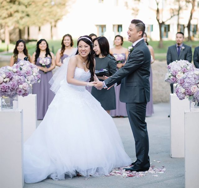 Bridal Party at Avenue of The Arts Costa Mesa