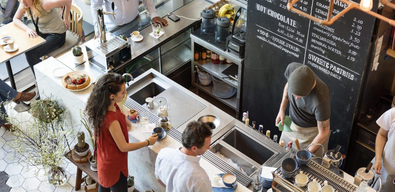 group of people inside coffee shop