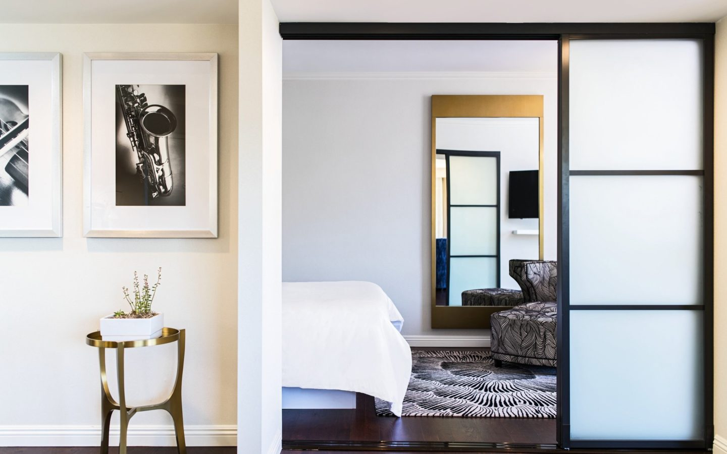 Executive Suite Bedroom Entrance at Avenue of the Arts