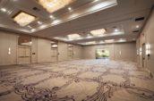 Empty Ballroom of Avenue of The Arts Costa Mesa