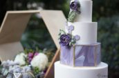 4-tiered cake