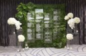 white flowers decor
