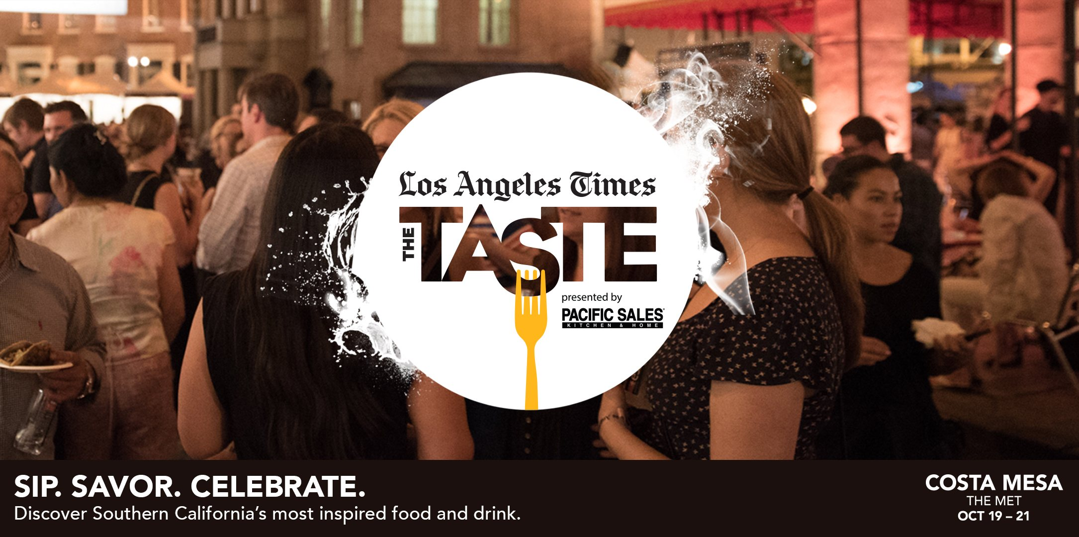 Los Angeles Times, The Taste 2018 poster