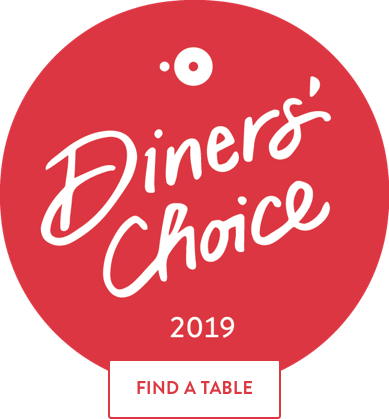Diners' Choice 2019 OpenTable Badge
