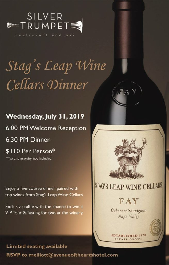 Stag's Leap Wine Cellars Dinner