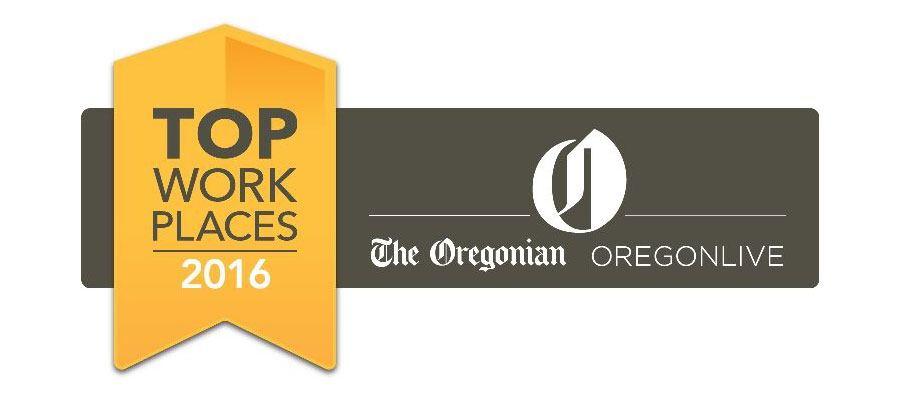 the oregonion ranked the nines a top place to work logo