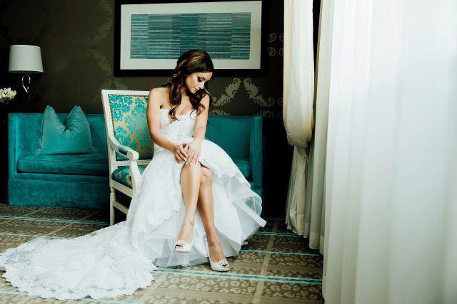 Bride in Suite