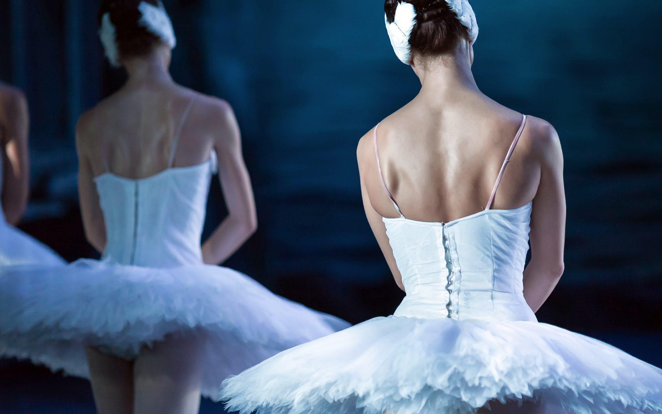 ballerina closeup at the portland performing arts