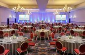 large luxury banquet setup for portland events and weddings