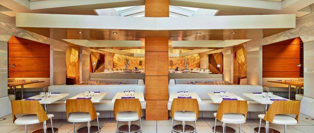 depatures dining room modern restaurant in portland
