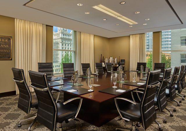 modern boardroom for meetings in portland
