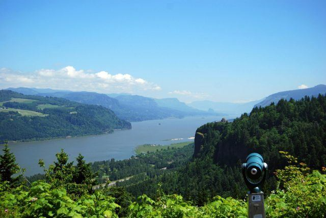 view of crown point in portland