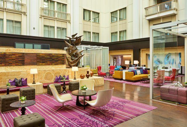 atrium at the nines hotel