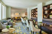 luxury club lounge at the nines hotel