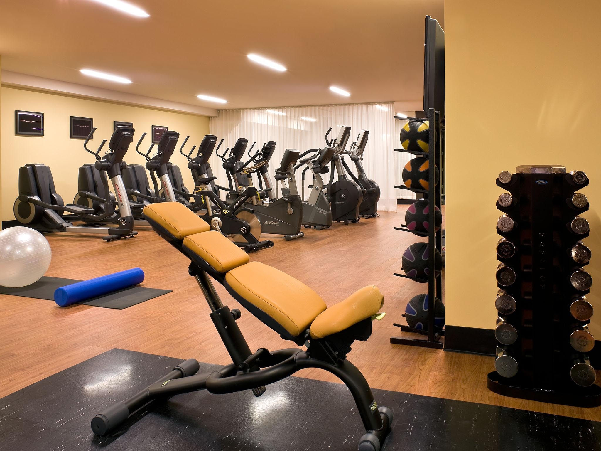 the nines hotel executive fitness center