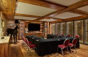intimate meeting space at The Nines hotel