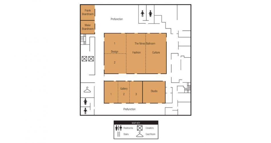 Portland meeting venue special event space in portland for Wedding reception floor plan