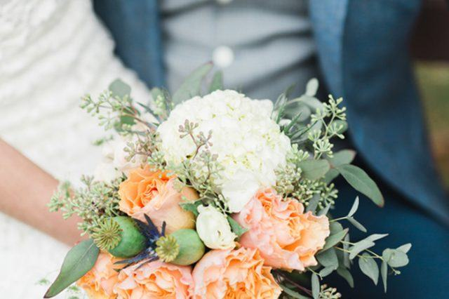 Beautiful floral bouquet at The Nines Hotel Wedding