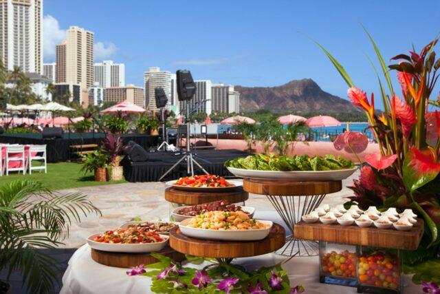Royal-hawaiian-hotel-dining-aha-aina-dinner-food-station-2