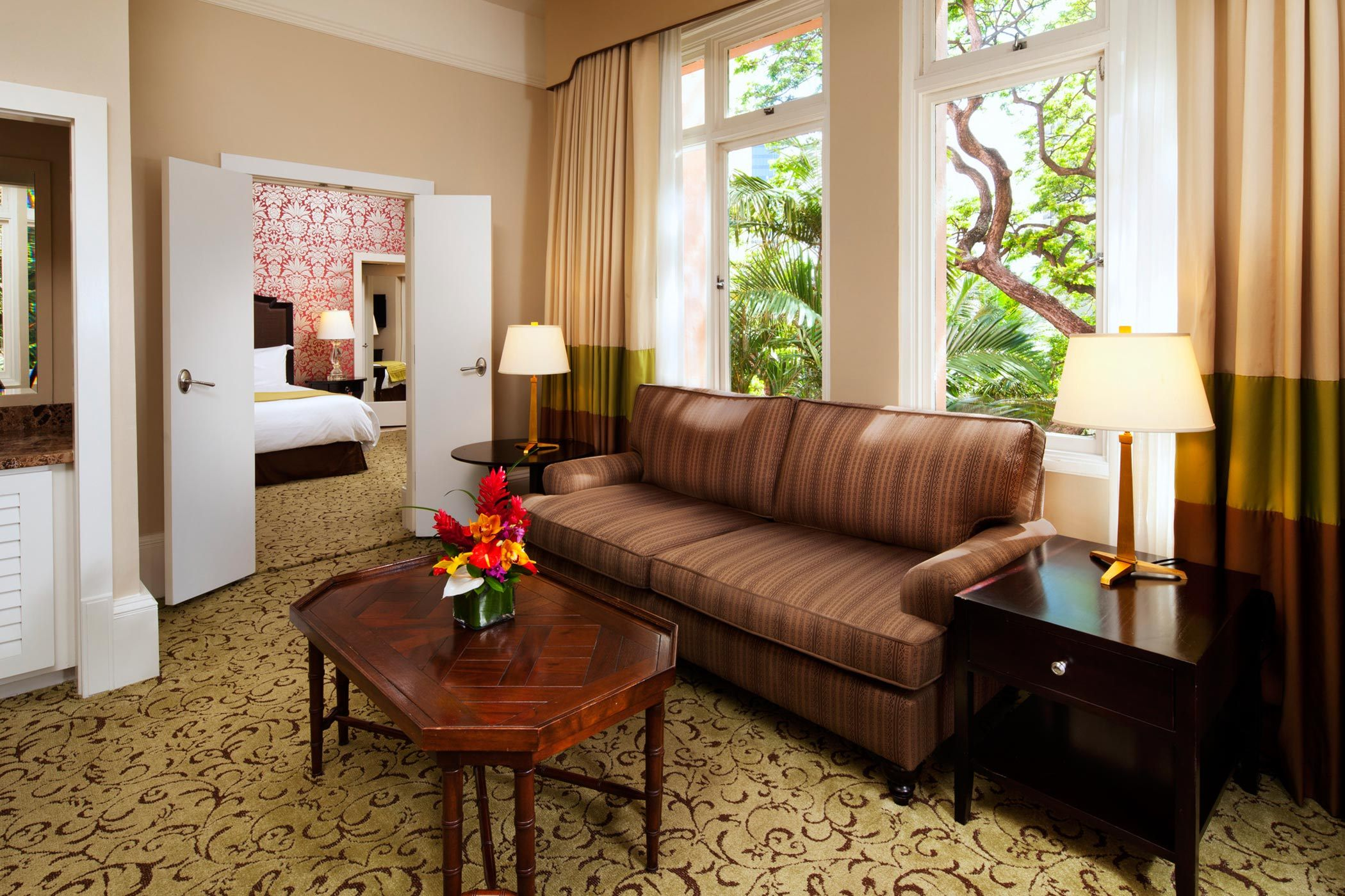 Historic Garden Jr Suite The Royal Hawaiian