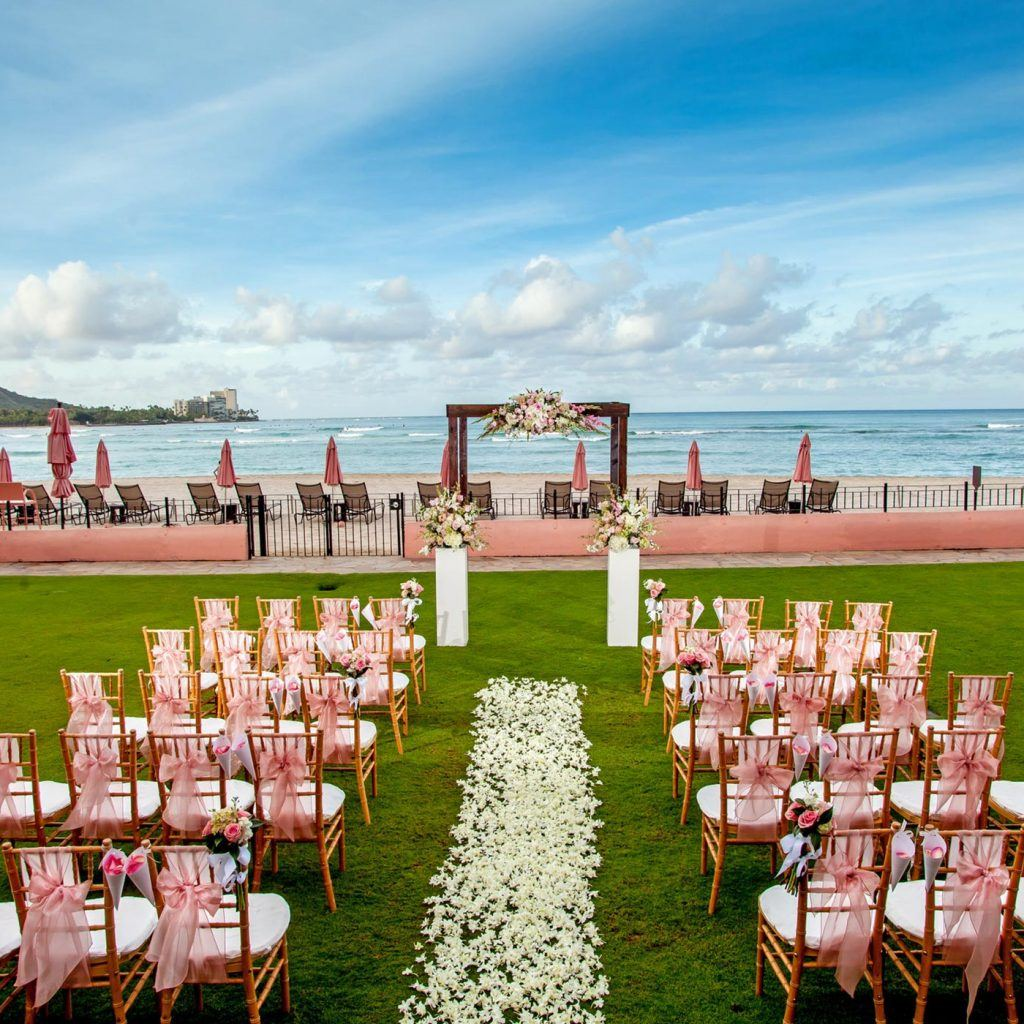 Hawaii Wedding Packages.Luxury Weddings Waikiki Wedding Venue The Royal Hawaiian