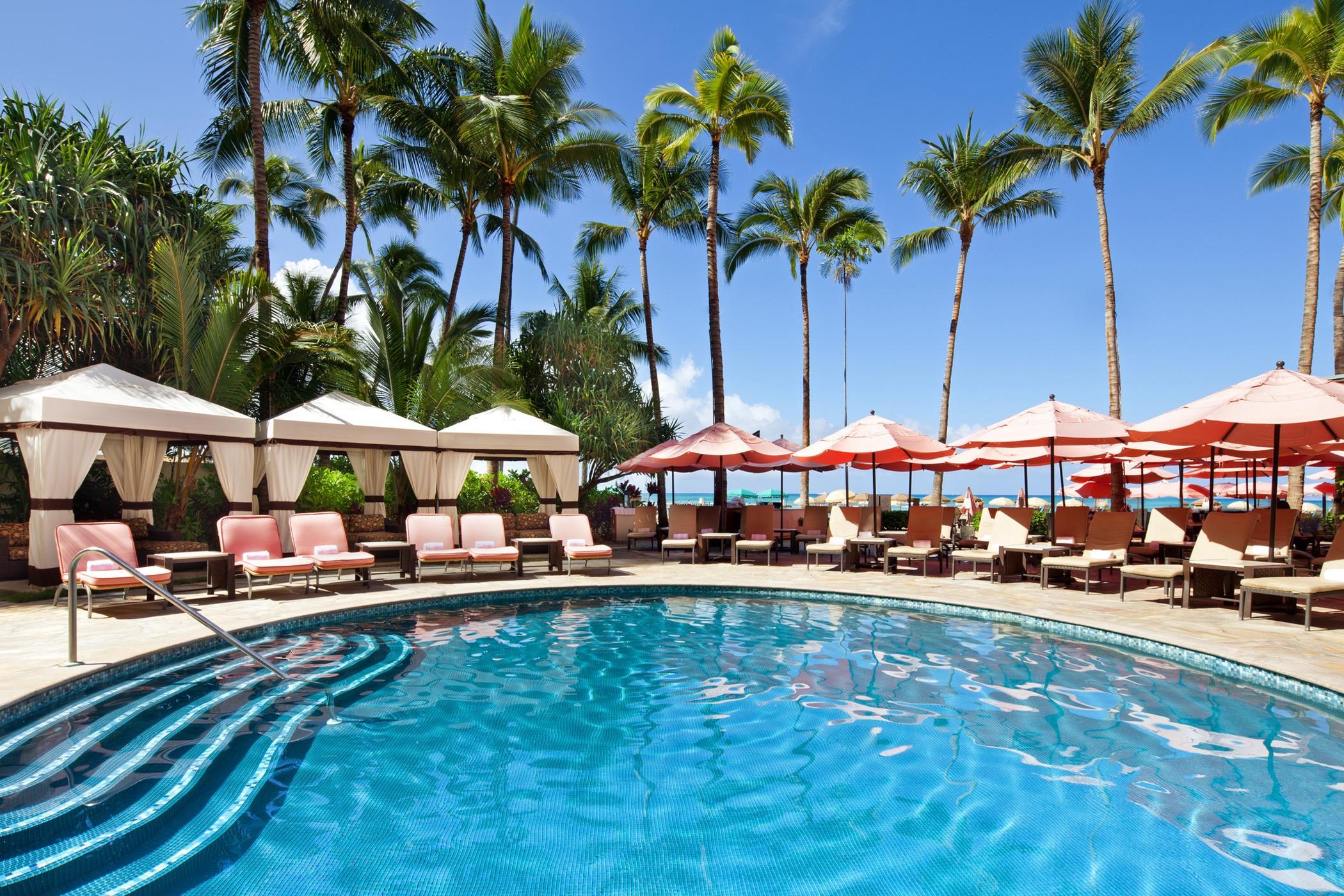 Pool Beach Services The Royal Hawaiian