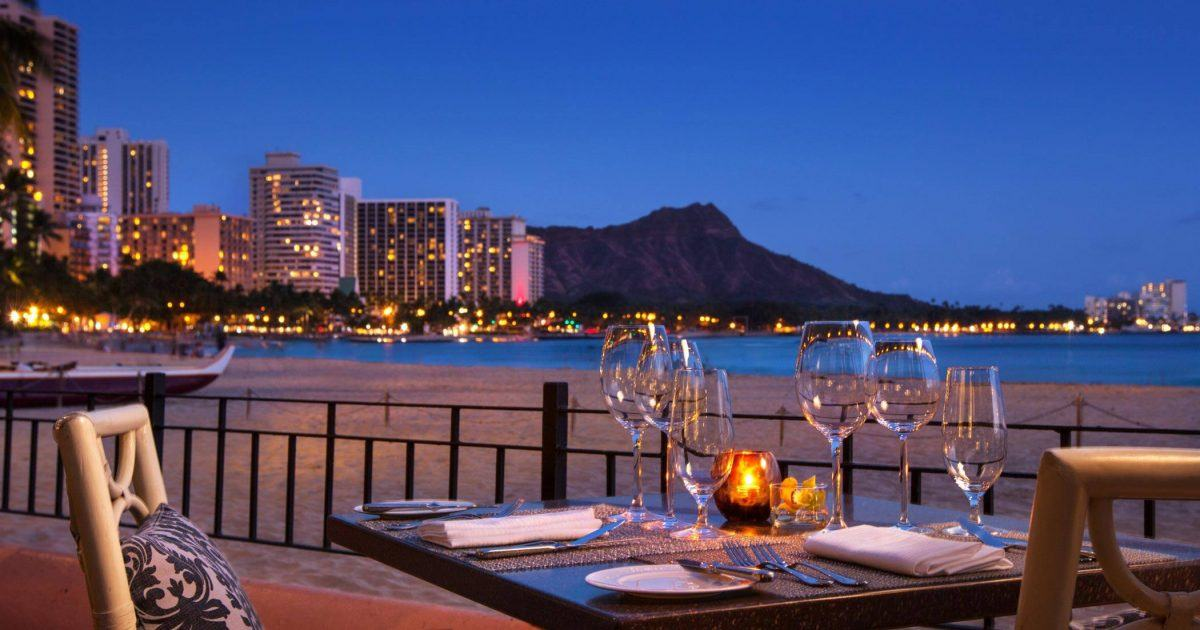 Waikiki Beachfront Restaurant Azure Restaurant The
