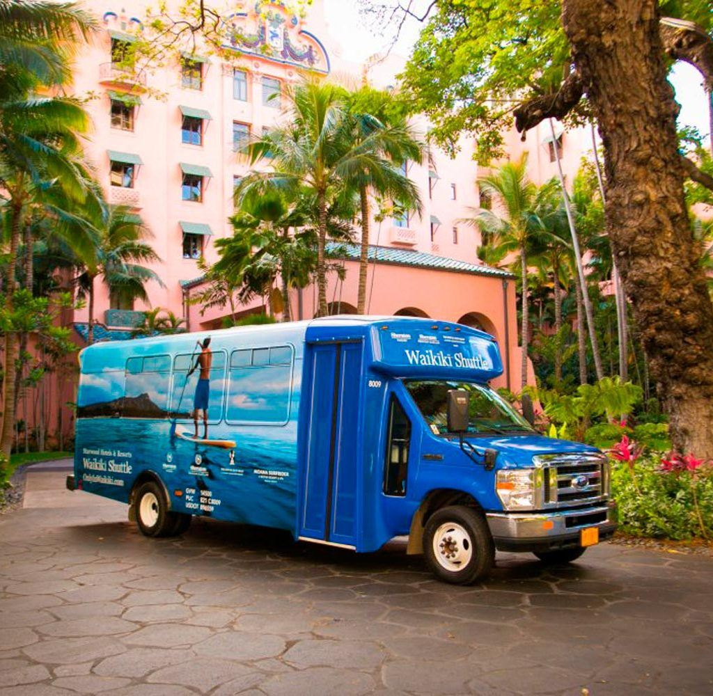 Airport Transfers - Honolulu Airport Shuttle | The Royal