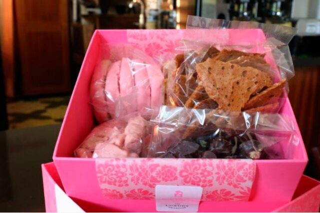 packs of pastries in box