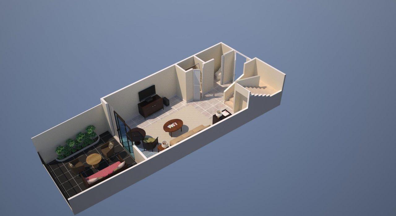 royal-hawaiian-hotel-mailani-tower-Loft-Suite-first-floor-plan