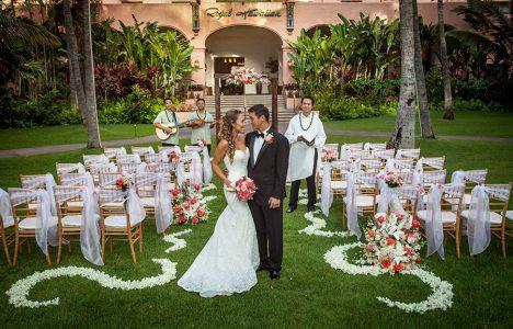 Classic wedding packages the royal hawaiian pikake junglespirit Images