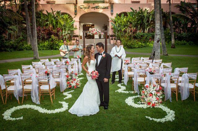 Wedding In Hawaii.Luxury Weddings Waikiki Wedding Venue The Royal Hawaiian
