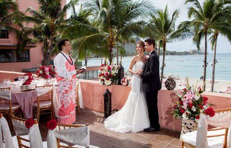 Weddings the royal hawaiian king kamehameha suite junglespirit Images