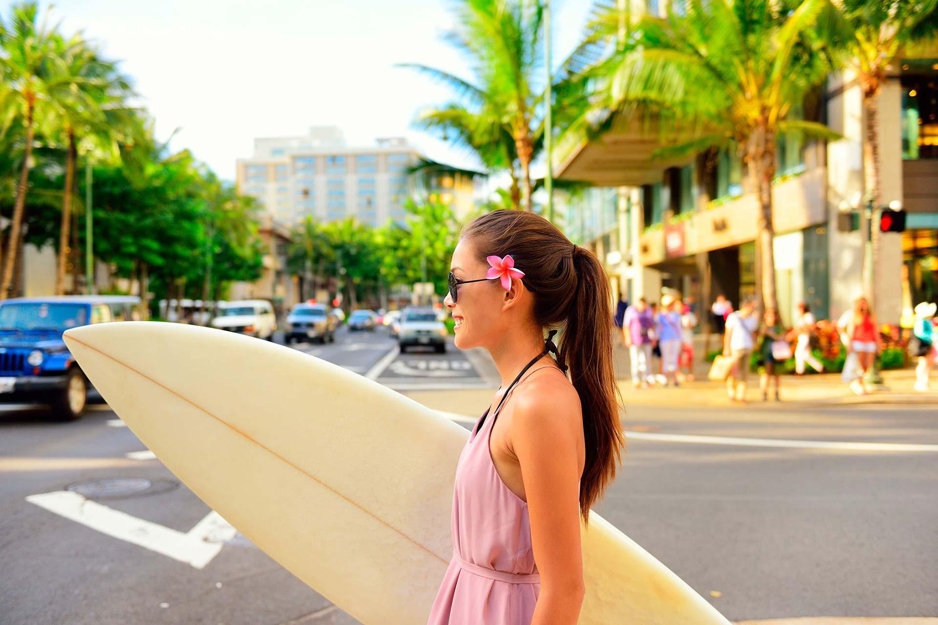The-Royal-Hawaiian-Resort-Local-Attraction-Royal-Hawaiian-Center-Surfer