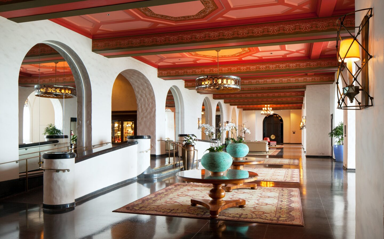 daytime photo of Lower Lobby