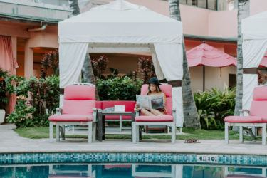 Amazing Waikiki Hotel Pool Waikiki Umbrella Rental The Royal Gmtry Best Dining Table And Chair Ideas Images Gmtryco