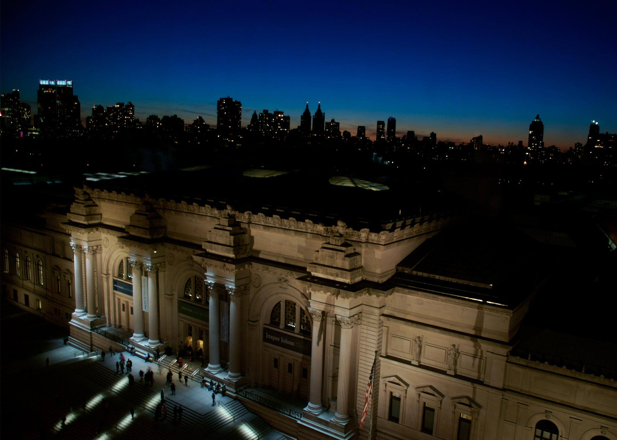 Exterior The Metropolitan Museum of Art at night