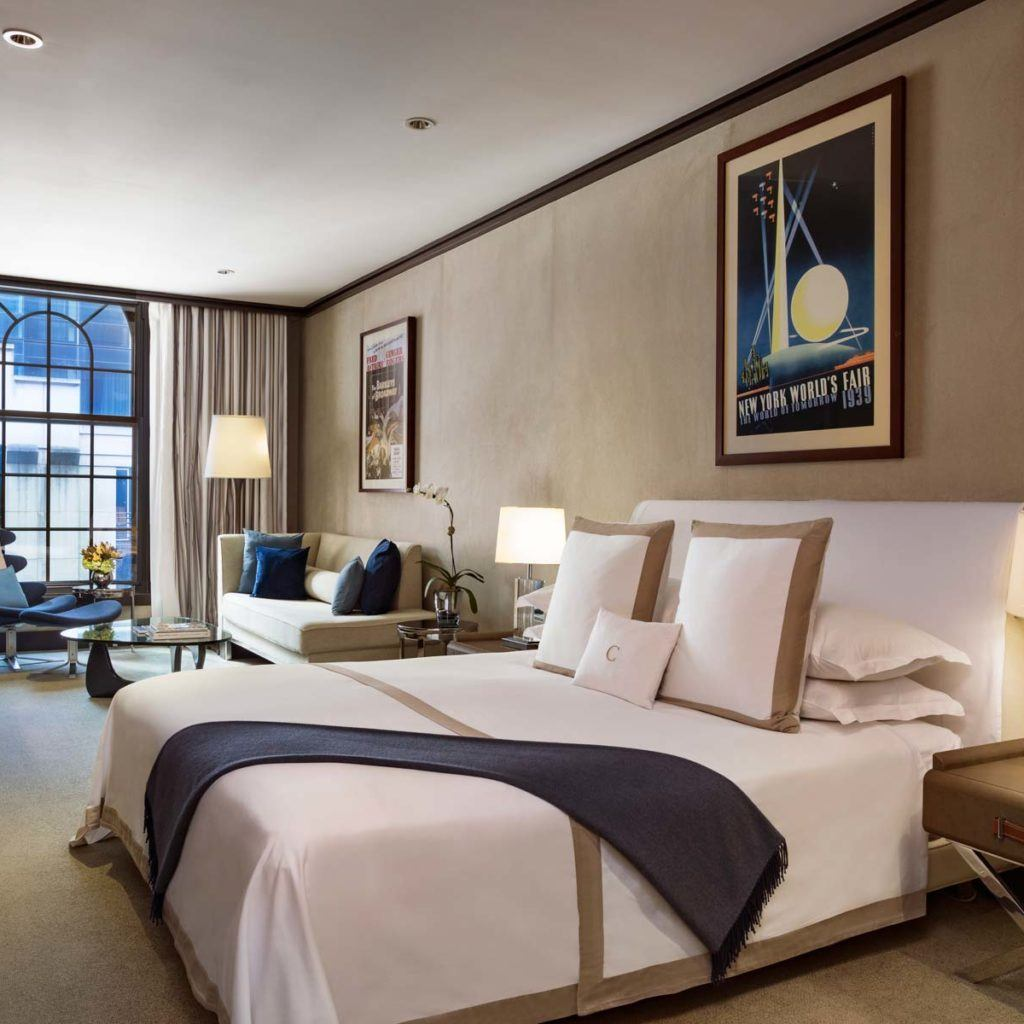 Junior Suite King Luxury Hotel Suite In New York The Chatwal
