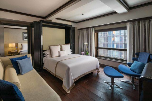 One Bedroom Suite Descending Bed Down