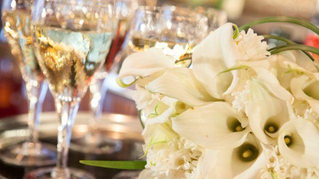 The-Chatwal-Manhattan-Wedding-Venue-Wine-Flowers