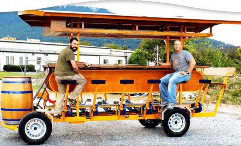brew choo cart