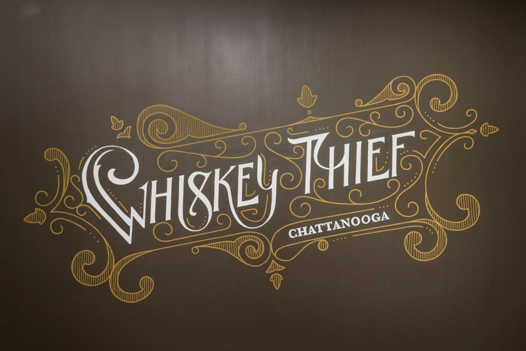 whiskey thief chattanooga logo
