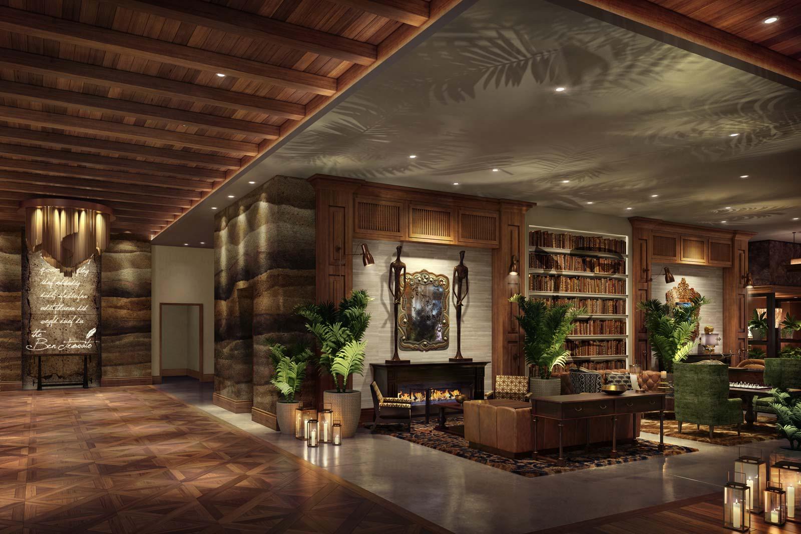 panoramic photo of room interior