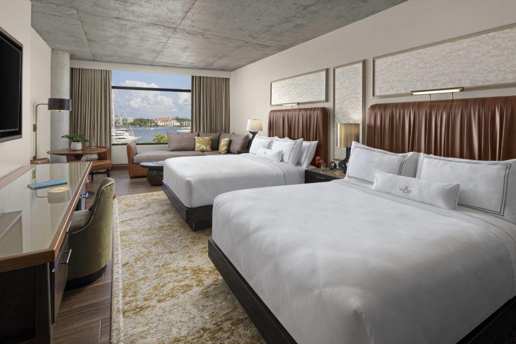 Guest Room two queen beds water view
