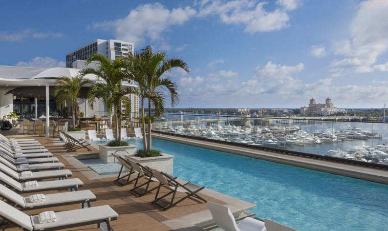 Rooftop Pool Daytime