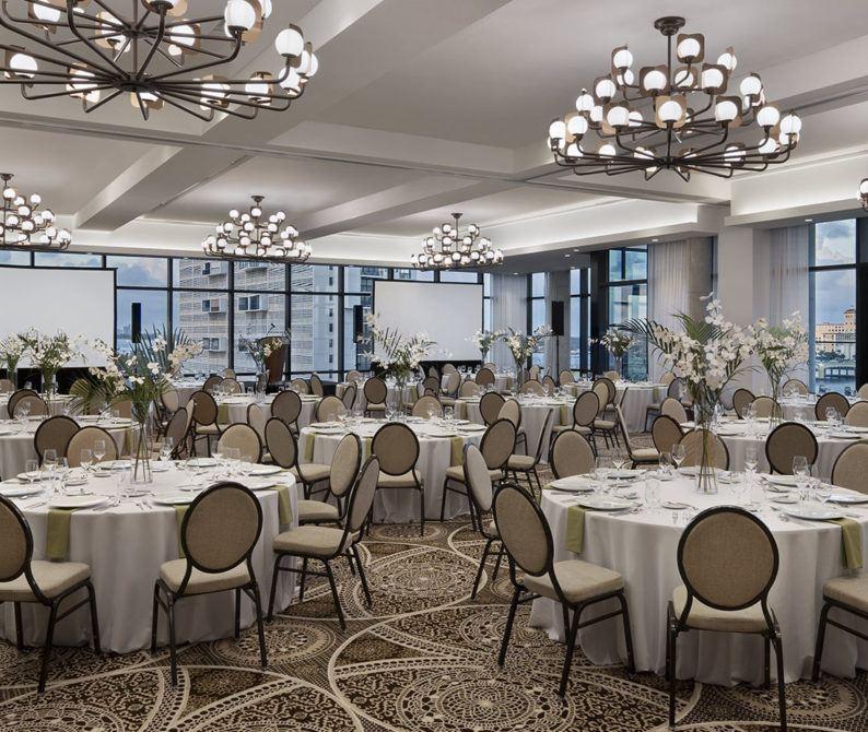 Blue Heron Ballroom Banquet Setup