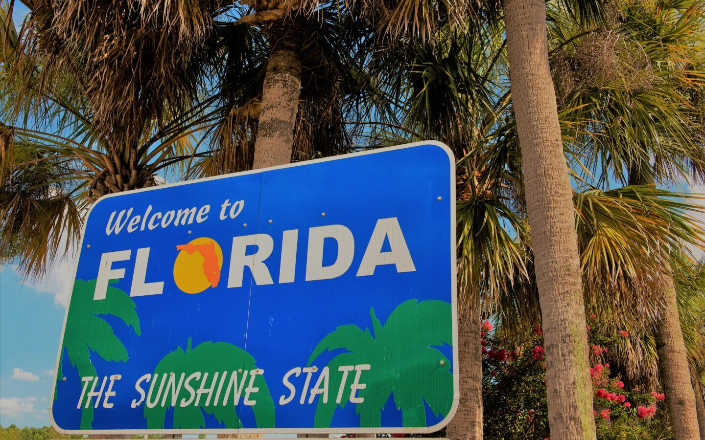 florida state sign