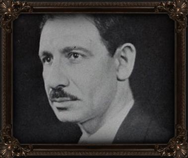grayscale photo of Franklin P. Adams